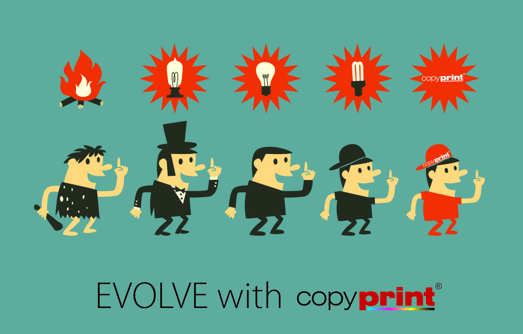Evolve with copyprint 3