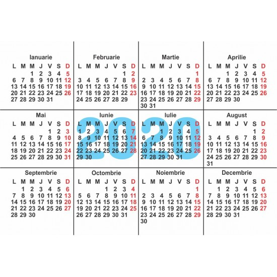 Calendare de buzunar