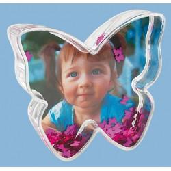 Glob foto fluture cu inimioare